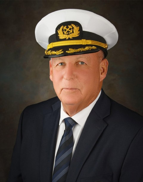 Commodore Rob Spensley